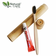 BAMBOO TOOTHBRUSH & TOOTHPASTE