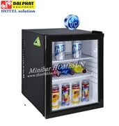 MINIBAR CLEAR GLASS DOOR HOMESUN 35 LITERS